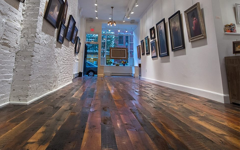 Art Gallery Barnwood Flooring